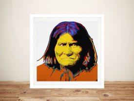 Geronimo by Andy Warhol Prints