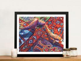 Buy Carp Et Koi Framed Iris Scott Canvas Art