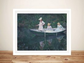 Buy In the Norvégienne by Monet Classic Prints