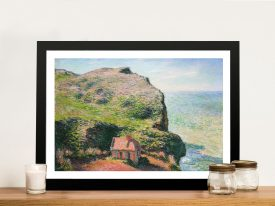 Buy a Print of The Customs House by Monet