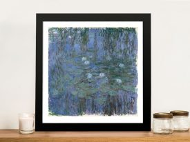 Buy a Print of Water Lilies by Claude Monet