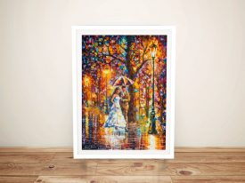 Buy Dream Wedding Colourful Framed Wall Art