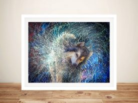Buy Luna the Sidereal Framed Canvas Art
