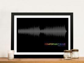 Pink Floyd Comfortably Numb Soundwave Artwork