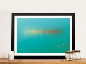 Buy a Soundwave Print for the Song Run