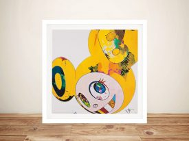 Buy And Then x6 (Yellow Universe) Framed Art