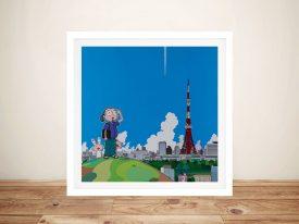 Buy Tokyo Tower Contemporary Wall Art