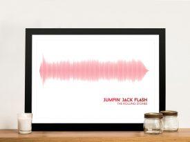 Buy a Jumpin' Jack Flash Soundwave Print
