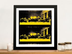 Buy a Print of The Last Supper by Andy Warhol
