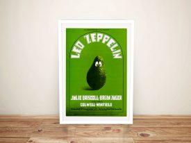 Buy Led Zeppelin Concert Memorabilia Art