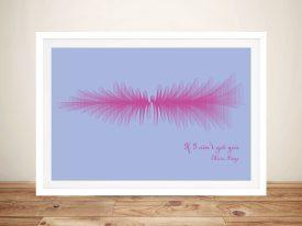 If I ain't got you by Alicia Keys Soundwave Framed Wall Art