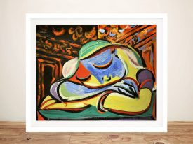 Buy Jeune Fille Endormie Wall Art by Picasso