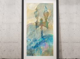 Buy Twilight Paris Wall Art by Albena Hristova