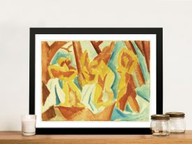 Buy a Bathers in a Forest Picasso Framed Print