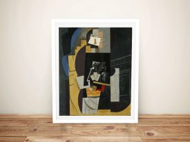 Buy a Framed Wall Art Print of Card Player