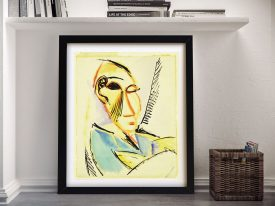 Buy Head of the Medical Student Picasso Wall Art