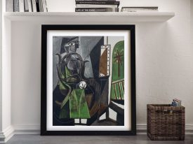 Buy a Print of Picasso's Woman by a Window
