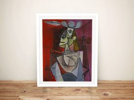 Buy Woman in an Armchair Picasso Wall Art