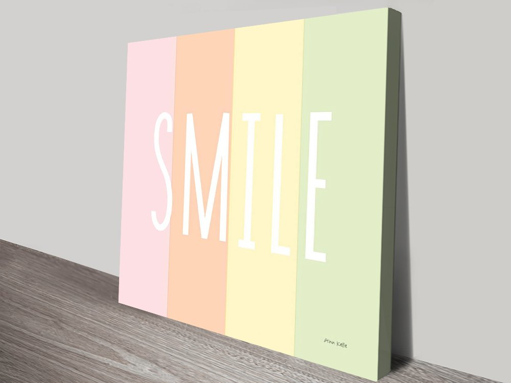 Smile-Rainbow-canvas-print