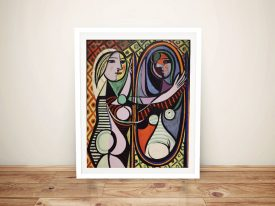 Buy Girl Before a Mirror Wall Art by Picasso