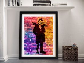 Buy a Print of Punk Angel Dayglo by Banksy