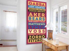 Buy Brisbane Lions AFL Art