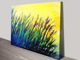 Buy Button Grass Colourful Abstract Art