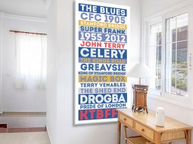 Chelsea Legends Blue Retro Tram Scroll