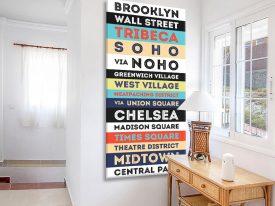Buy a Brooklyn USA Retro Style Tram Scroll