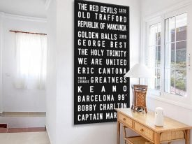 Buy a Manchester United FC Tram Banner