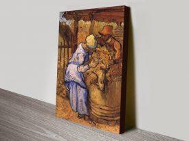 Buy Sheep Shearers Van Gogh Classic Art Prints