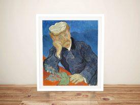 Van Gogh Dr Paul Gachet Framed Wall Art
