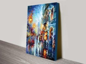 Melody of Passion Canvas Print Leonid Afremov