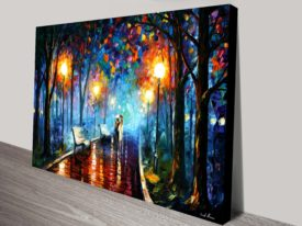 Misty Mood Leonid Afremov Canvas Print Australia