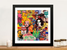 Andy Warhol Collage Pop Art Prints