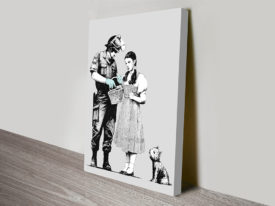 BANKSY DOROTHY searched wall art