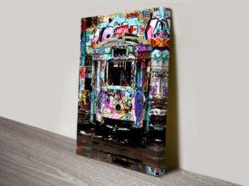 Old Tram Depot Graffiti Sydney