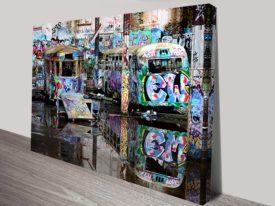 magic bus steve mclaren graffiti photos