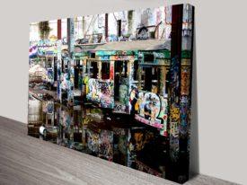 Mirrors cool graffiti wall art