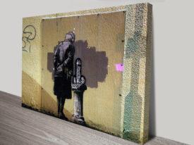 Banksy Art Buff Print