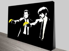 Banksy Pulp Fiction Artwork Prints