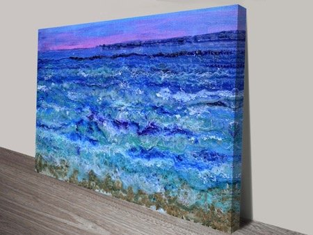 by the beautiful sea ocean abstract art