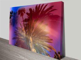 Dreamy Palm Trees Elena Kulikova Art