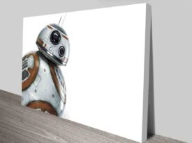 Star Wars Droid Canvas Art