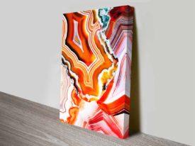 Metamorphic Layers Elena Kulikova Stretched Wall Art