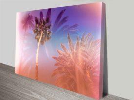 LA dreaming cheap custom artwork on canvas