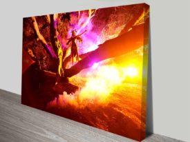 midnight spell elena kulikova framed canvas art