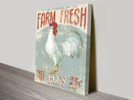 Farm Nostalgia II Print Canvas