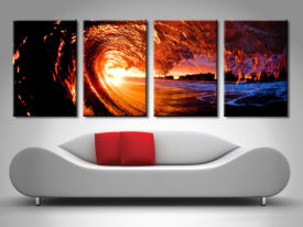 4-Piece Split Panel Wall Art