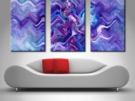 Foundation of Dreams triptych Panel Canvas Print Set
